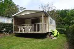 "Rental ""Confort"" with terrace mobile home"