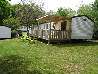 3 Room mobile home with terrace
